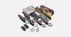 Remote Five Door Cable Central Locking Kit (4CL-004-REM)