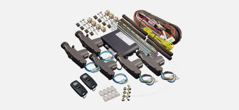 Remote Five Door Cable Central Locking Kit (4CL-004-REM)