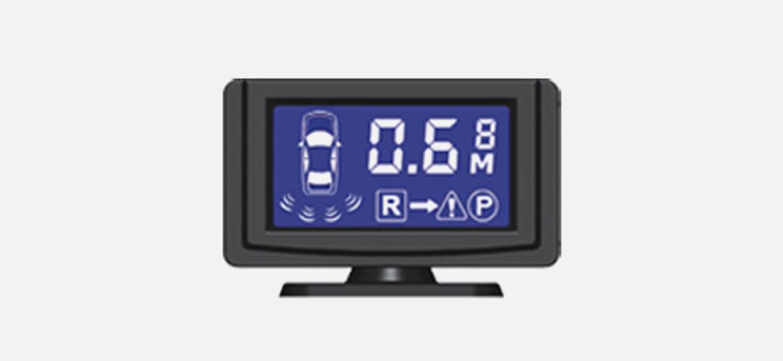 LC4 Optional rear LCD display
