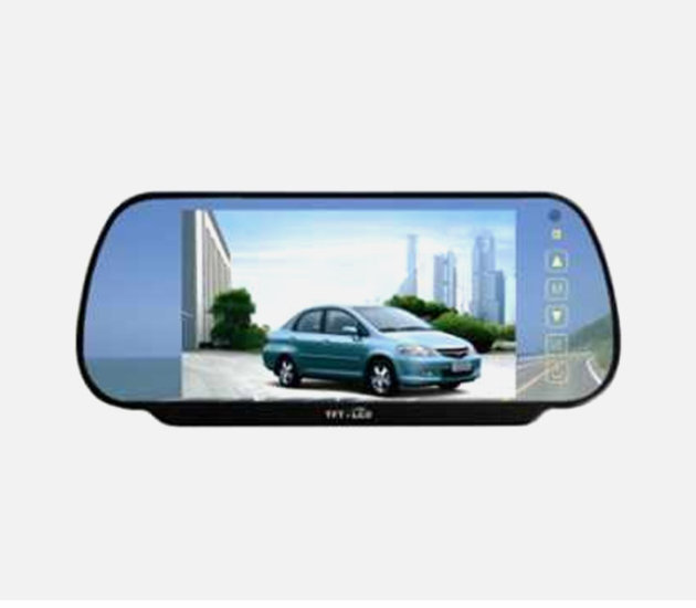 RV-4207CP Rearview Mirror Clip on Style & Camera